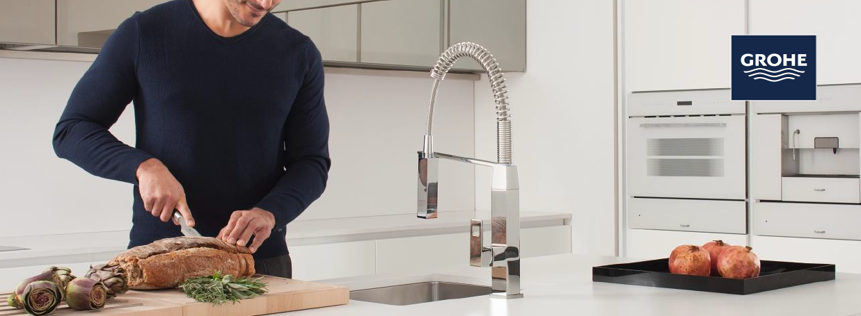 Single Lever Kitchen Taps from GROHE at xTWO