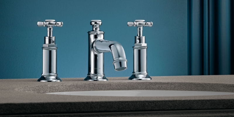 Axor Montreux washbasin faucet three-hole